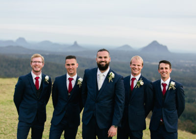 Henry and the Groomsmen