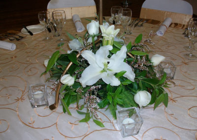 G150  Table arrangement