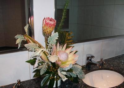 G150 Ladies powder room arrangement