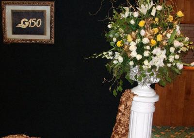 G150  Main Pedestal