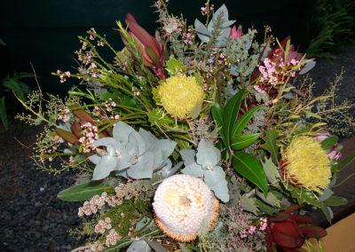 An arrangement of Native flowers