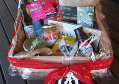 Large hamper with locally made goodies