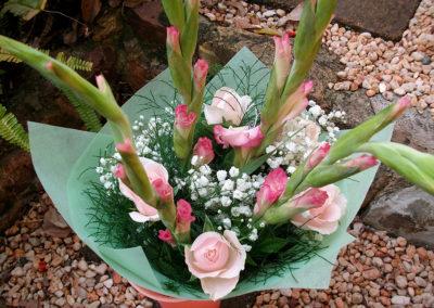 Gladioli & Roses