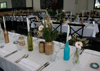 Rustic table settings, Noosa