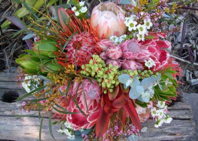 Native wedding bouquet