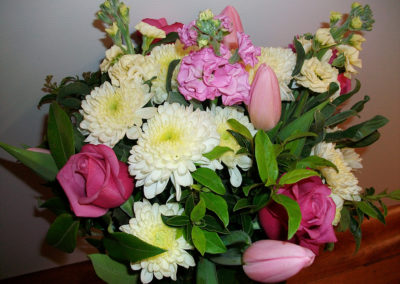 Yellow & Pink bouquet