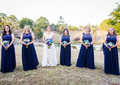 Danni & her Bridesmaids